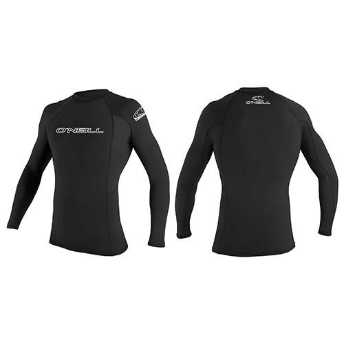 O'Neill Mens Basic Rash Vest Long Sleeved - Surfdock Watersports Specialists, Grand Canal Dock, Dublin, Ireland