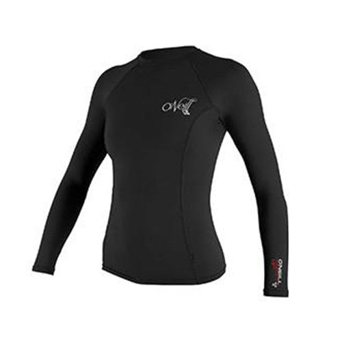 O'Neill Womens Thermo-X Long Sleeve Thermal Top - Surfdock Watersports Specialists, Grand Canal Dock, Dublin, Ireland