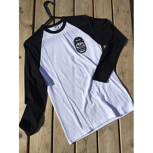 Wakedock Baseball Tee - Surfdock Watersports Specialists, Grand Canal Dock, Dublin, Ireland