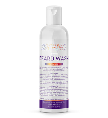 Naked Beard Wash-JJ Clark Body Co.