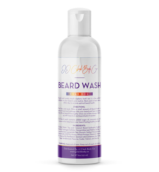 Road Dog Beard Wash-JJ Clark Body Co.