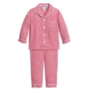 Red Gingham PJ Set