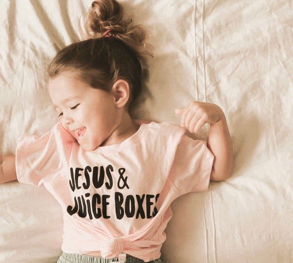 Jesus & Juice Boxes Tee