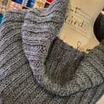 CHUNKY ALPACA TURTLENECK COWL KNIT KIT