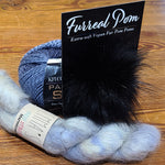 Painted Sky with Mohair Hat Knit Kit