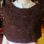 SHOULDER WARMER KNIT KIT/BROWN