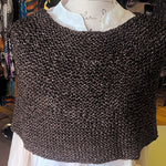 SHOULDER WARMER KNIT KIT/GREY