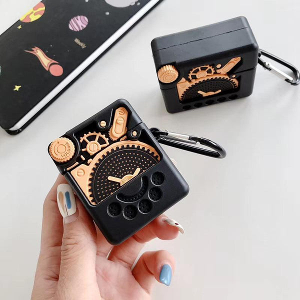 On Trend 3D Mechanical Gear AirPod Case - On Trend Cases