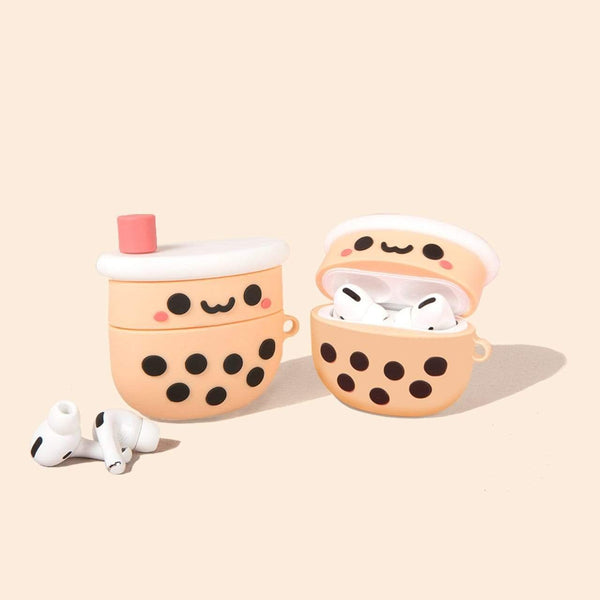 On Trend Pearl Boba Tea AirPod Case - On Trend Cases