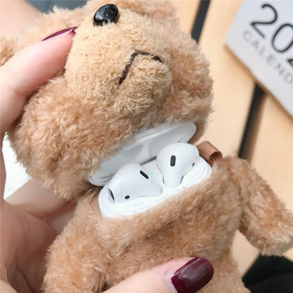 On Trend Teddy Bear AirPod Case - On Trend Cases