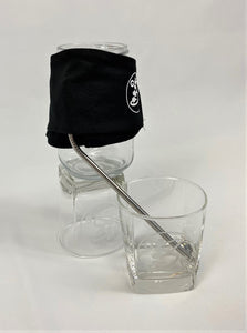 Mask with sipping slit