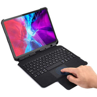 CHOETECH Detchable Wireless Keyboard Arabic Special for iPad Pro 12.9 (Support Apple Pencil Charging), Magnetic Wireless Bluetooth Keyboard