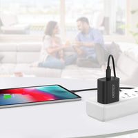 USB C Charger, CHOETECH PD Fast Charger 18W for iPhone 12/12 Pro Max/12 Mini, Ultra-Compact Type C Wall Charger