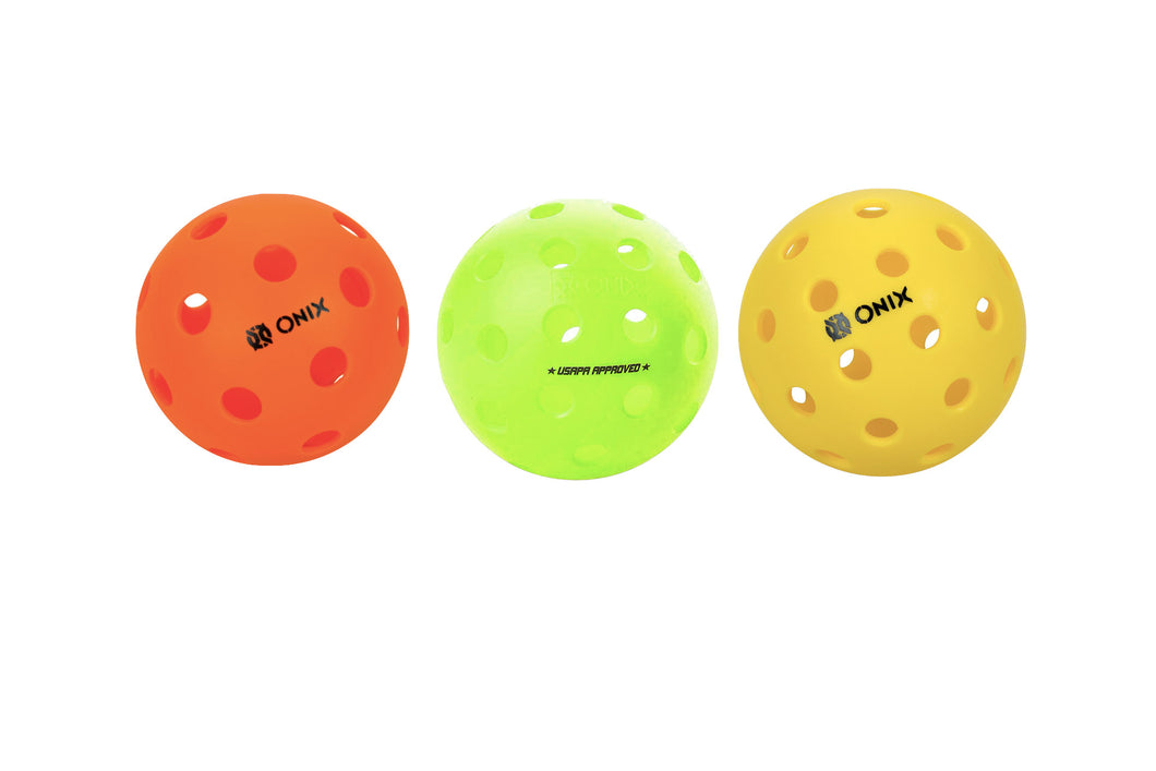 100 Pickleball Bulk Pack - Outdoor