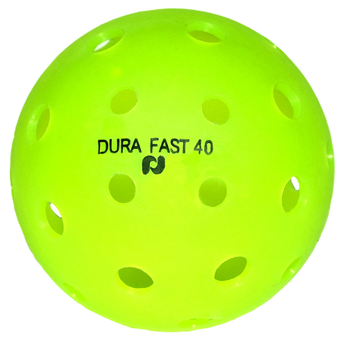 DuraFast 40 Outdoor Pickleball (Orange, Yellow, and Green.)