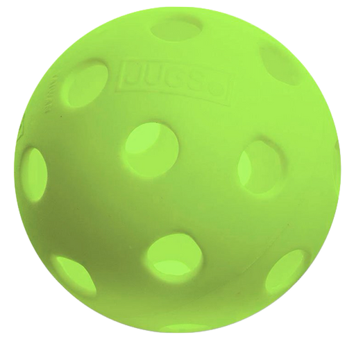 Jugs Indoor Pickleballs - Green and White