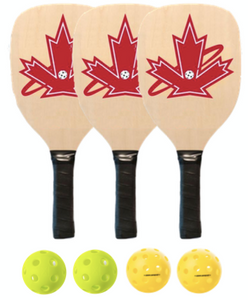 Premium 3 Wooden Paddle Package