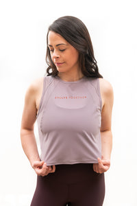 Evolve Together Sculpt Cropped Tank