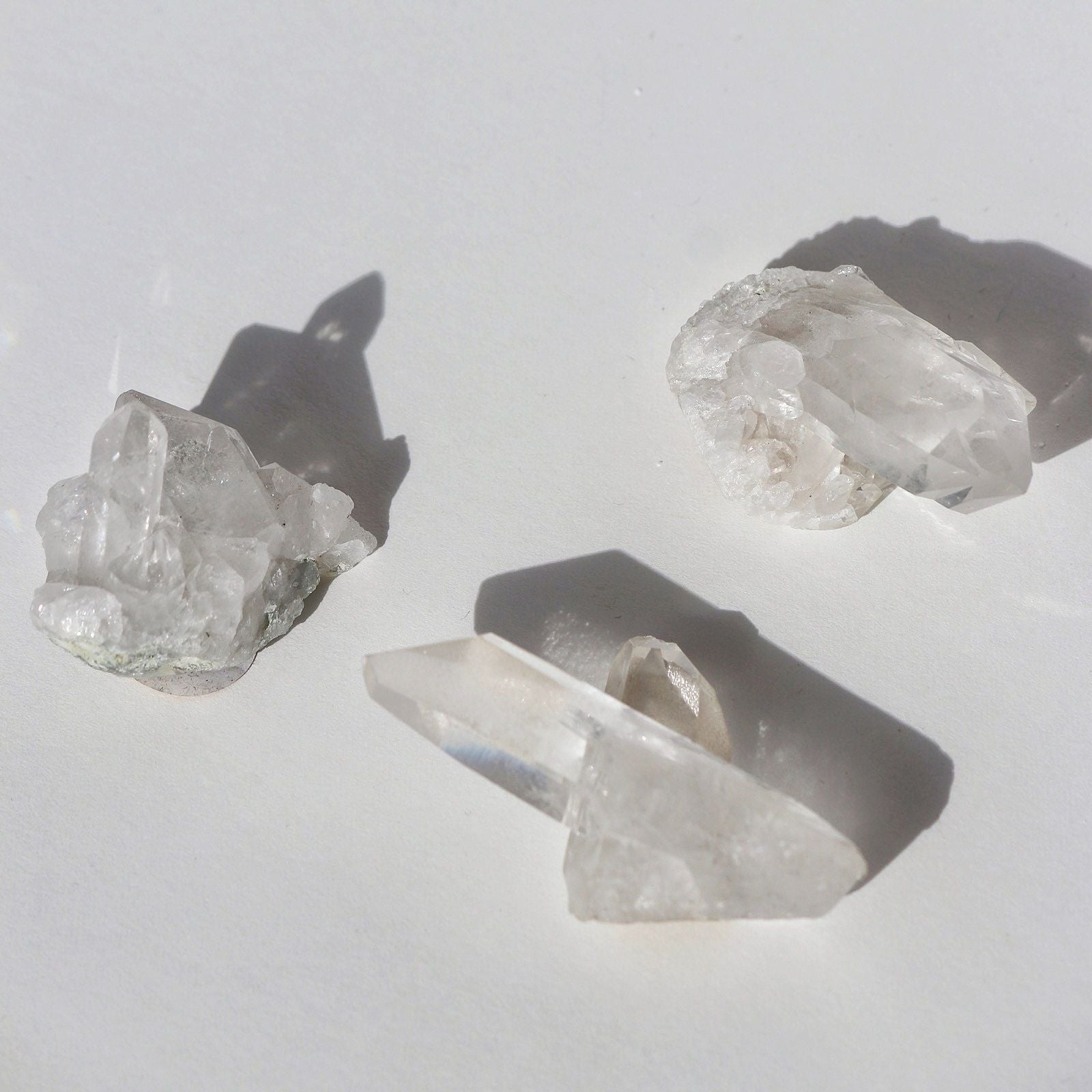 Clear Crystal Quartz | Small Cluster