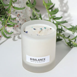 Balance Crystal Candle
