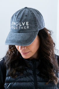 Evolve Together Dad Baseball Hat