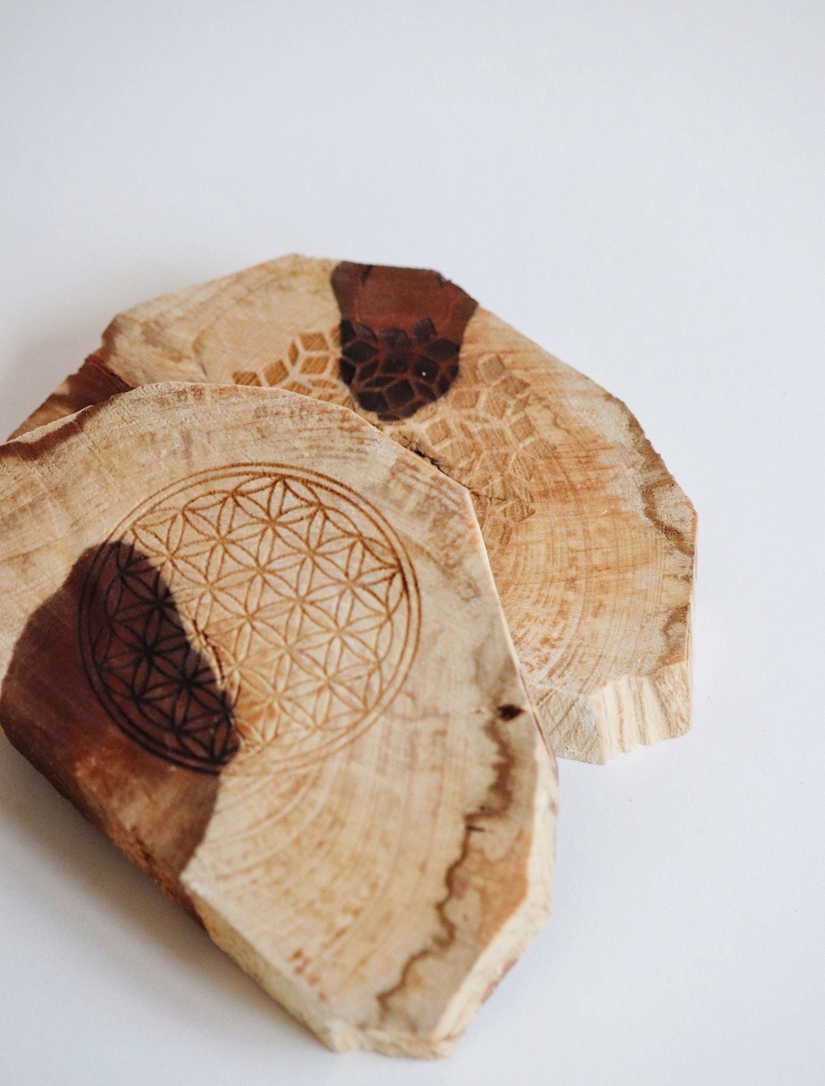 Palo Santo Etched Slab