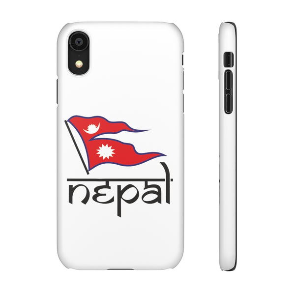 Light weight snap Phone Case with Nepali Flag