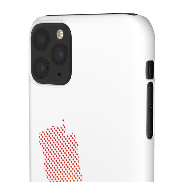 Slim Phone Case with Nepali New Map Dots पातलो