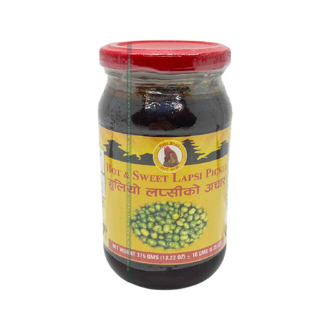 Hot and Sweet Lapsi Pickle