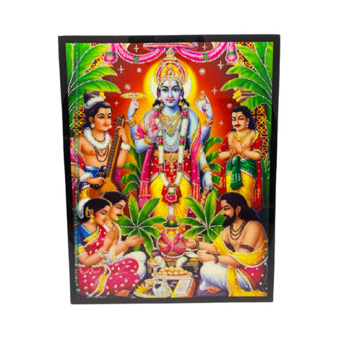 God Bishnu photo frame