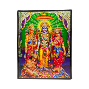 God Ram, Laxman, Seeta, Hanuman Photo frame