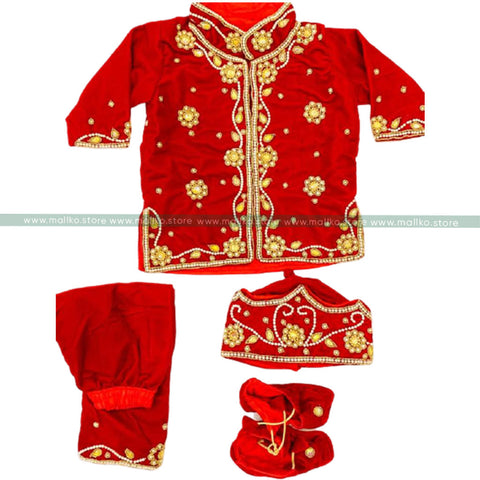 Red Pasni Dress