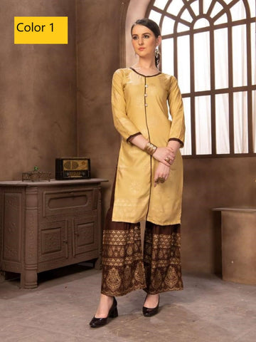 Kurti with Sharara
