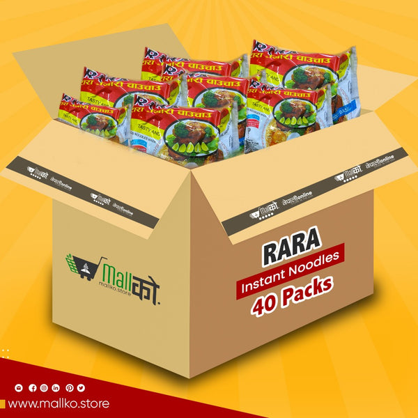 RARA WHITE NOODLES 40 PACK