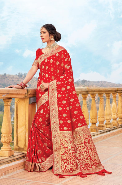 Banarasi Saree with Blouse Piece