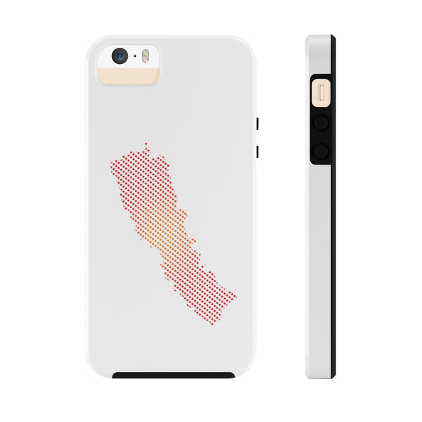 Touch and Light Weight Phone case with New Map of Nepal dots