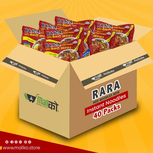RARA RED NOODLES 40 PACK