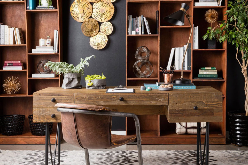 Mid Century Moder Home Office Design and more Ideas and Tips from Heaven's Gate Home