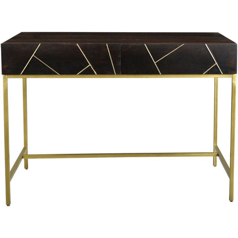 Contemporary Modern Art Deco Office Desk from Heaven's Gate Home