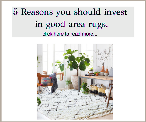5 Reasons Why You Should Invest in Area Rugs from Heaven's Gate Home