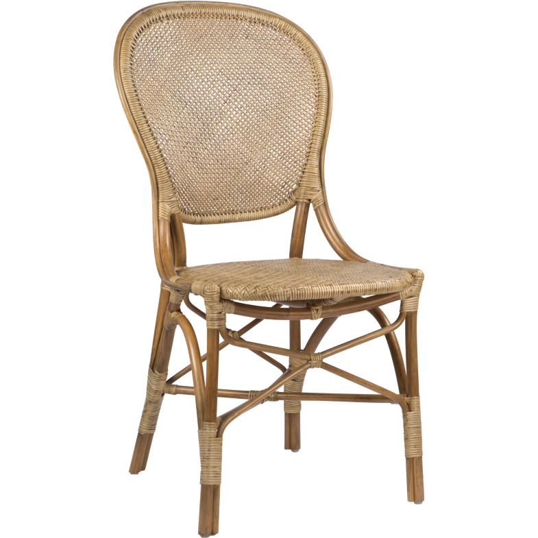 Sika-Design Originals Rossini Dining Side Chair, Indoor-Dining Chairs-Sika Design-Brown-Heaven's Gate Home