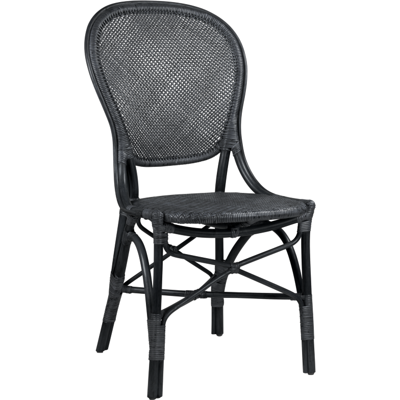 Sika-Design Originals Rossini Dining Side Chair, Indoor-Dining Chairs-Sika Design-Black-Heaven's Gate Home