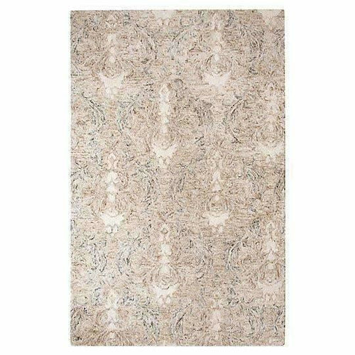 Company C Carrera Handspun, Tie-Dyed Time Softened Damask Rug-Rugs-Company C-3' x 5'-Heaven's Gate Home, LLC