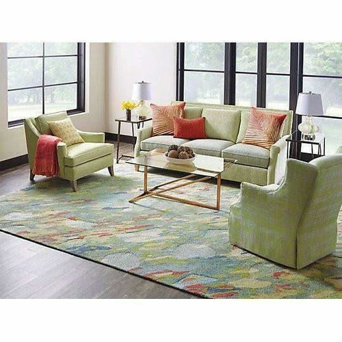Company C Reflections 100% Bamboo Viscose Hand-Tufted Rug, Multi-Rugs-Company C-Heaven's Gate Home