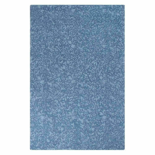 Company C Crackle Hand-Tufted 100% Pure Wool, 2-Tone Rug-Rugs-Company C-Blue-5' x 8'-Heaven's Gate Home