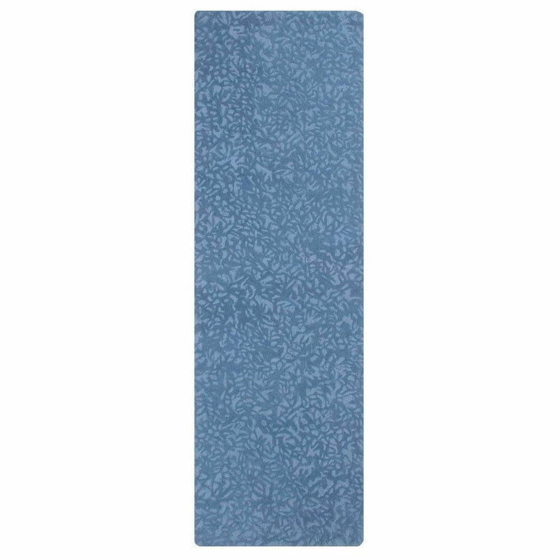 Company C Crackle Hand-Tufted 100% Pure Wool, 2-Tone Rug-Rugs-Company C-Blue-3' x 8' Runner-Heaven's Gate Home