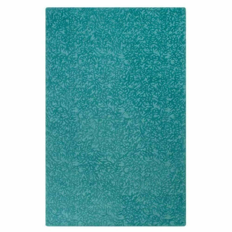 Company C Crackle Hand-Tufted 100% Pure Wool, 2-Tone Rug-Rugs-Company C-Teal-5' x 8'-Heaven's Gate Home