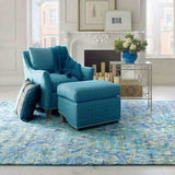 Company C Carlton Tribal Pattern, Hand-Knotted 100% Wool Rug-Rugs-Company C-Heaven's Gate Home