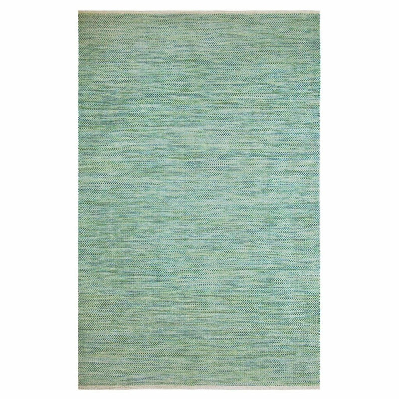 Colorfields Tula Hand Woven Wool Solid Rug, Sea Grass-Rugs-Colorfields by Company C-2' x 8' Runner-Heaven's Gate Home