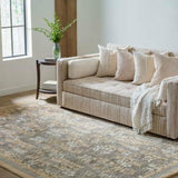 Company C Bracken 100% Wool Hand Knotted Area Rug, Camel-Rugs-Company C-Heaven's Gate Home